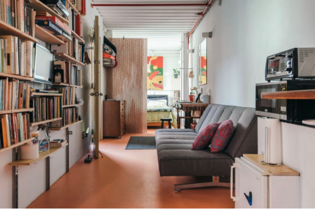 NYC Shipping Container Home